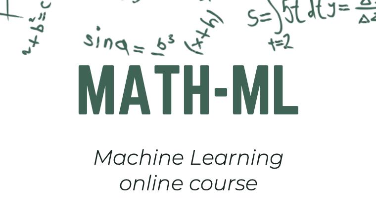 Math-ML Course [Online]